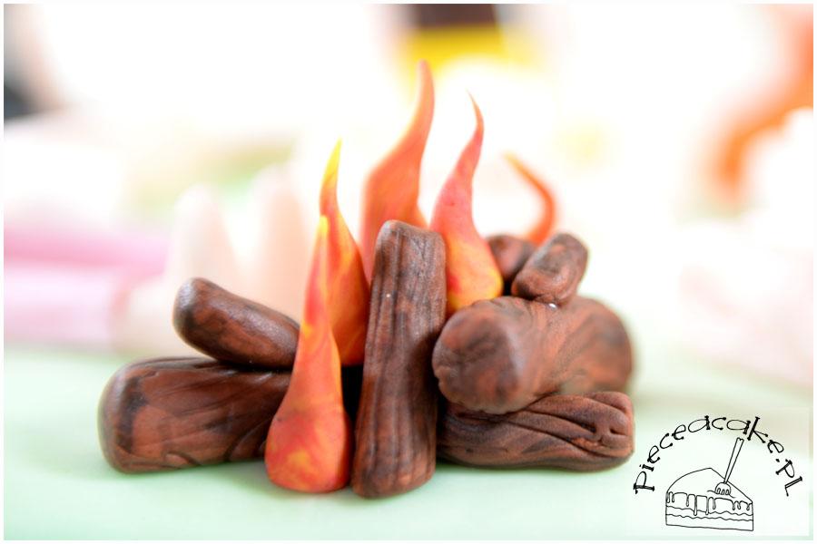 Tort Piknik - ognisko