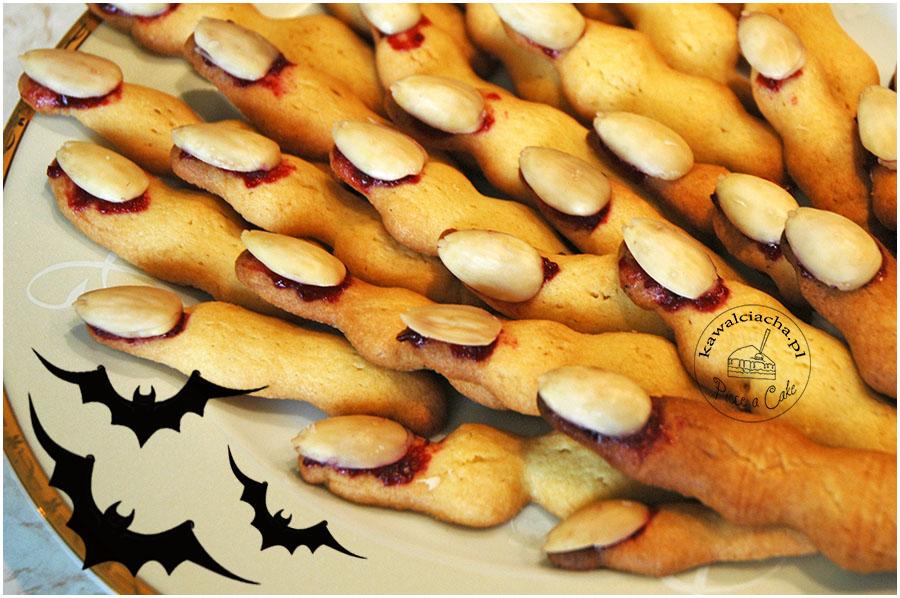halloweenowe paluchy wiedźmy