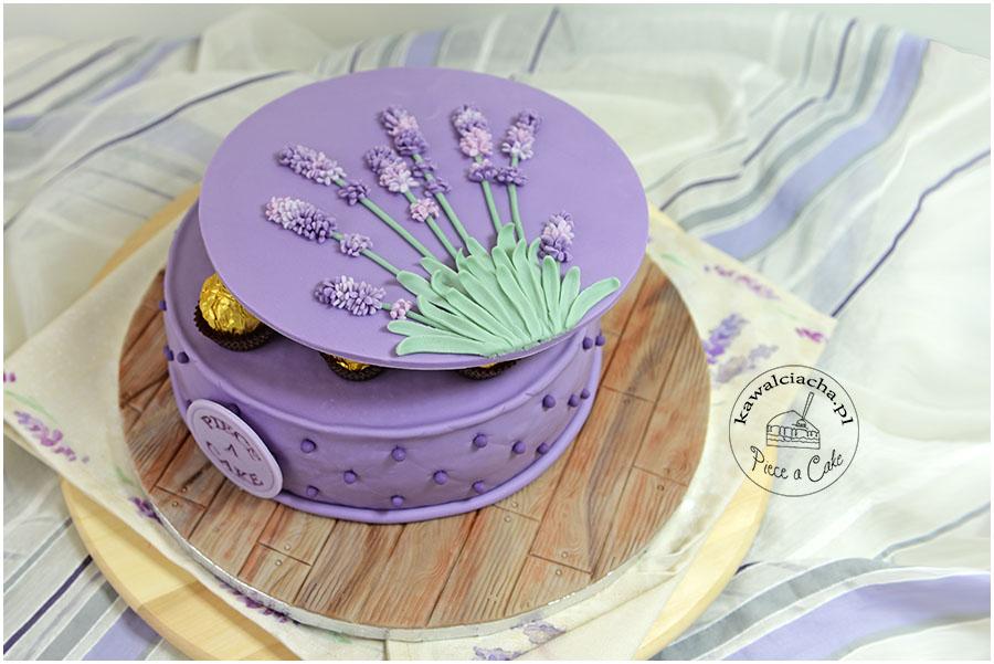 Tort pudełko czekoladek