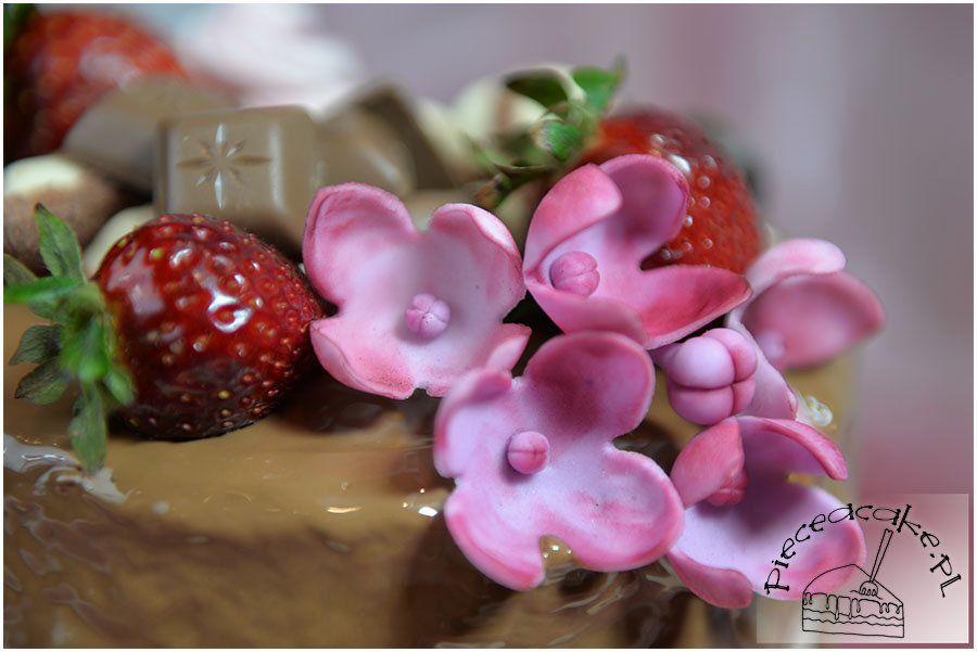 cukrowe kwiaty