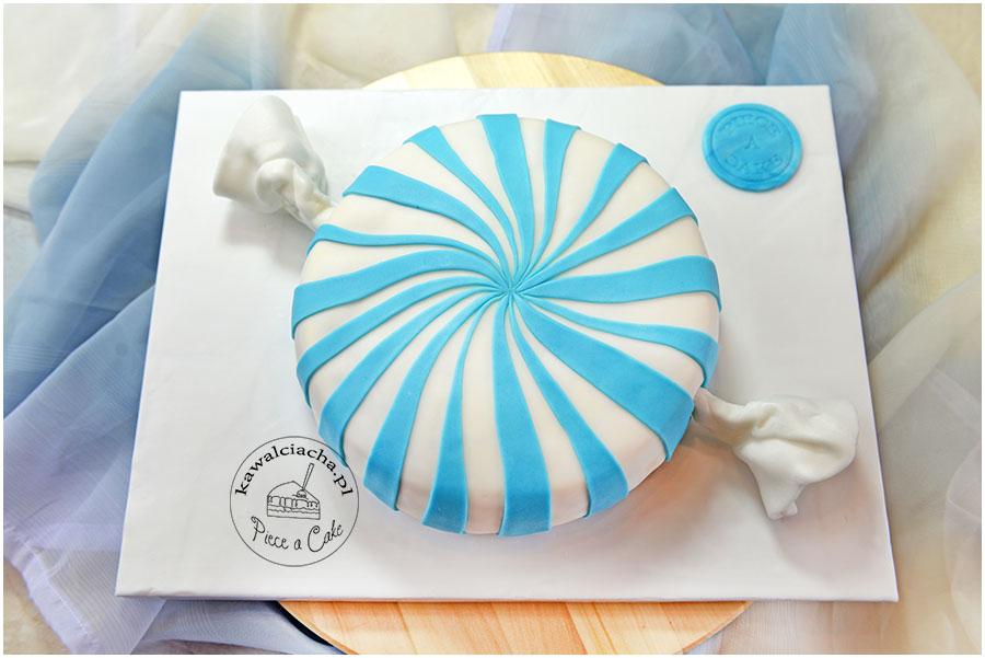 tort artystyczny cukierek