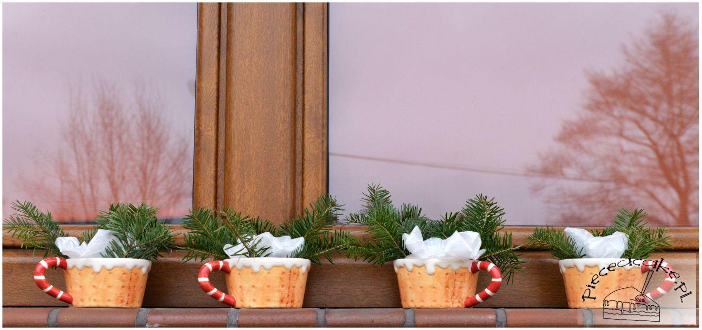 świąteczna dekoracja okna