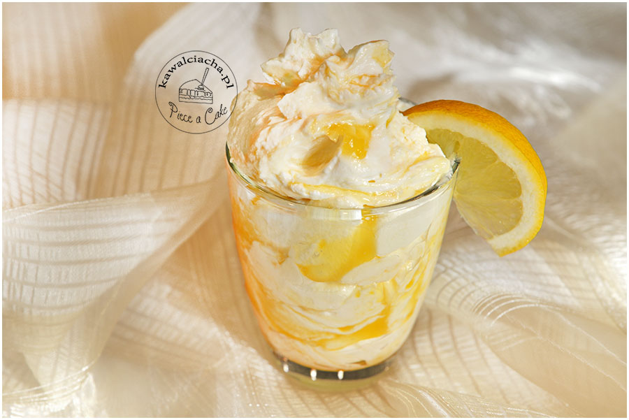 śmietanka z lemon curd