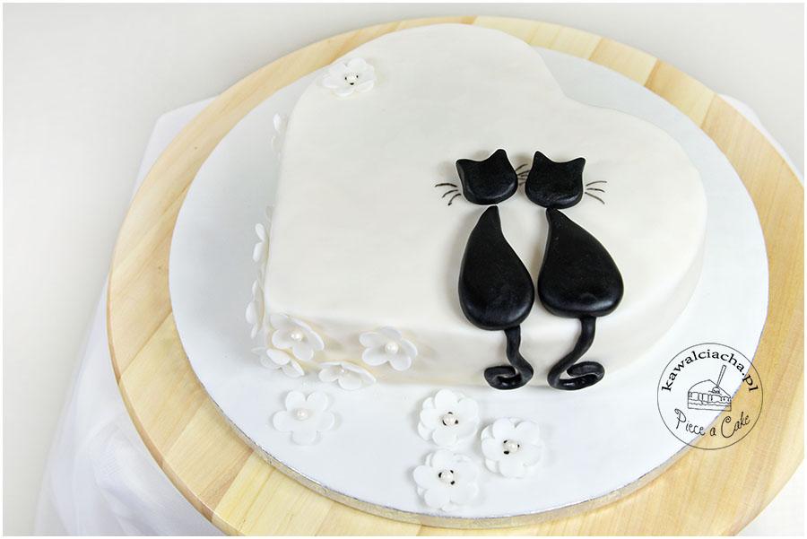 Tort w stylu angielskim Koty