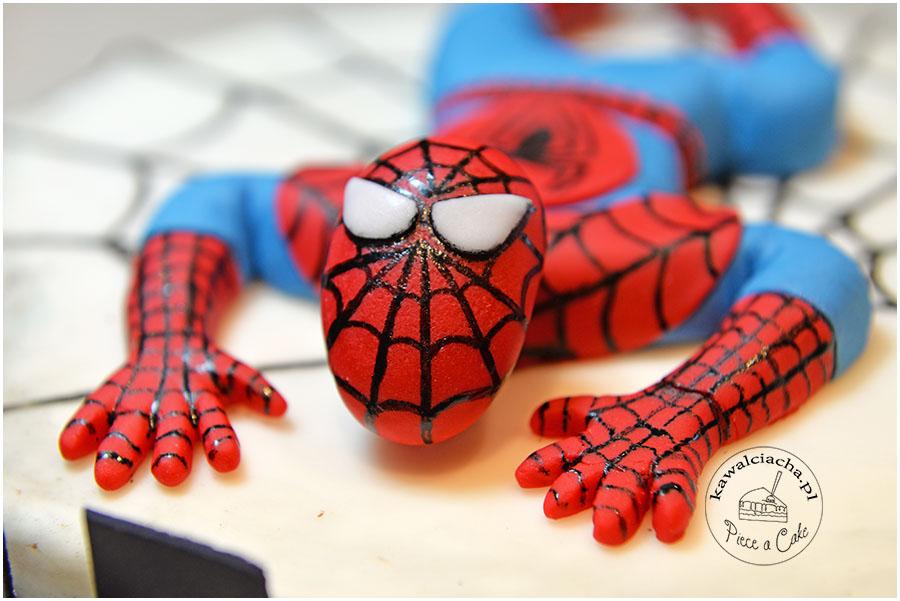 Spider-man z lukru plastycznego