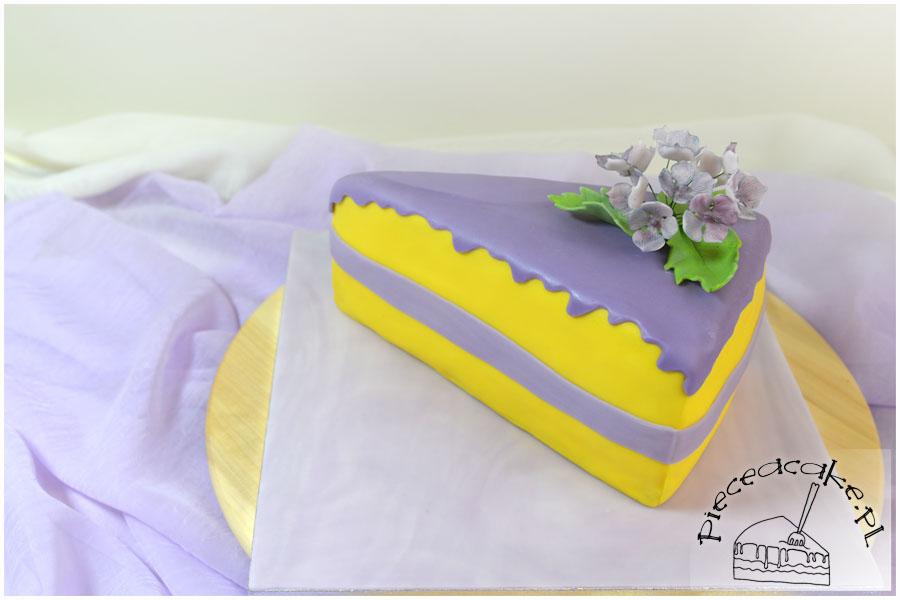tort na I urodziny Piece A Cake