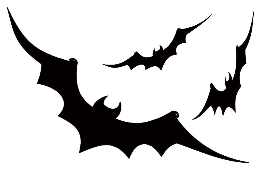 halloweenowy szablon