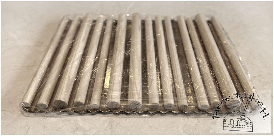 tacka do suszenia wstążek z lukru plastycznego