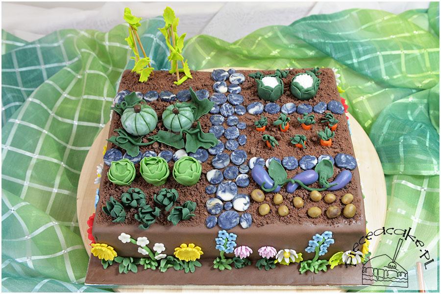 tort ogródek
