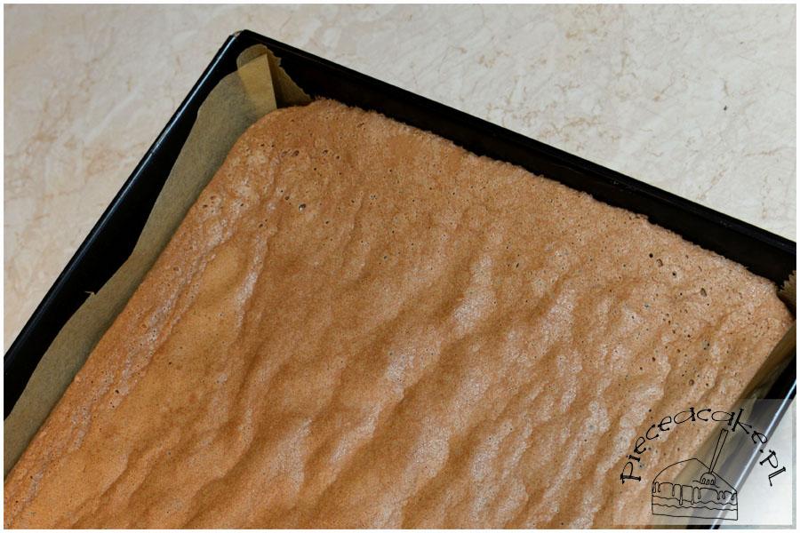 Tort Piknik - biszkopt kakaowy
