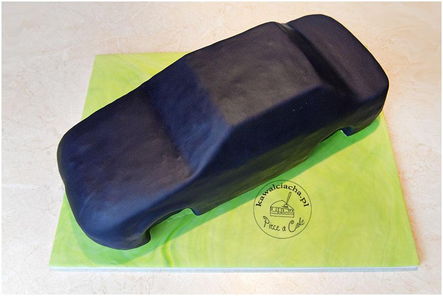 Tort w kształcie samochodu Audi