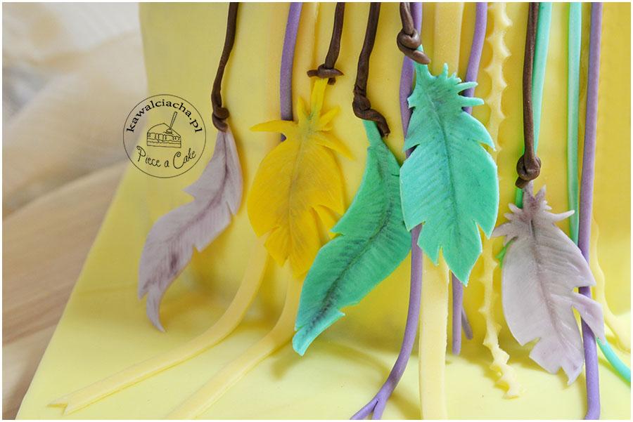 feathers - piórka z lukru plastycznego