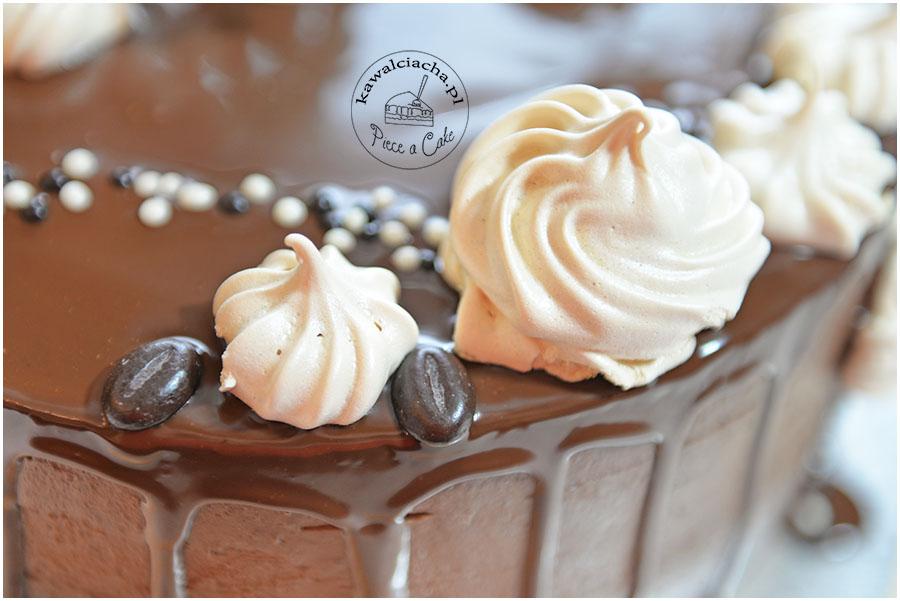 drip cake - tort oblany polewą ganache