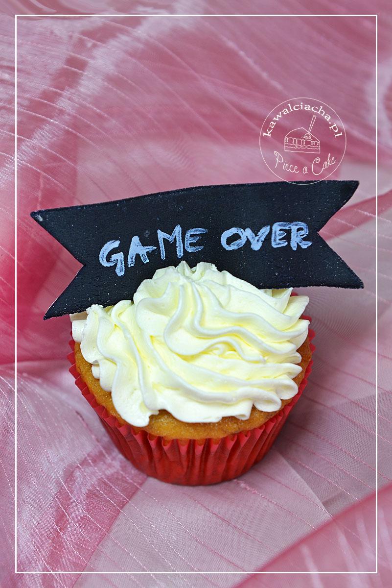 """Wieczór panieński - muffiny """"GAME OVER"""""""