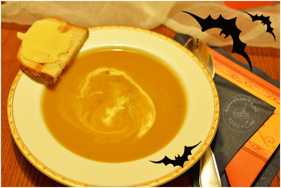 halloweenowa zupa z dyni