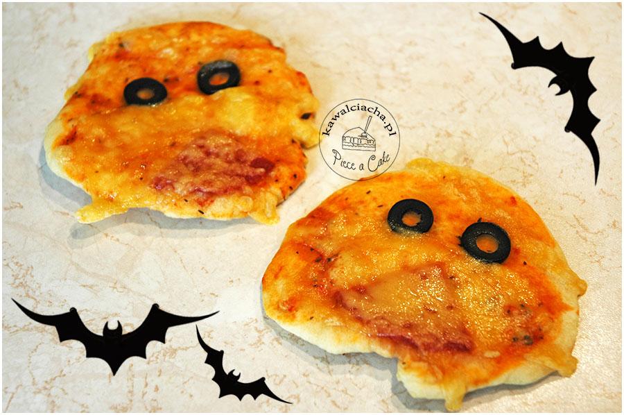 mini pizzeryjki - duszki halloweenowe