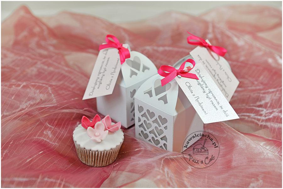 Przyjęcie z okazji chrztu - słodkie prezenty dla gości