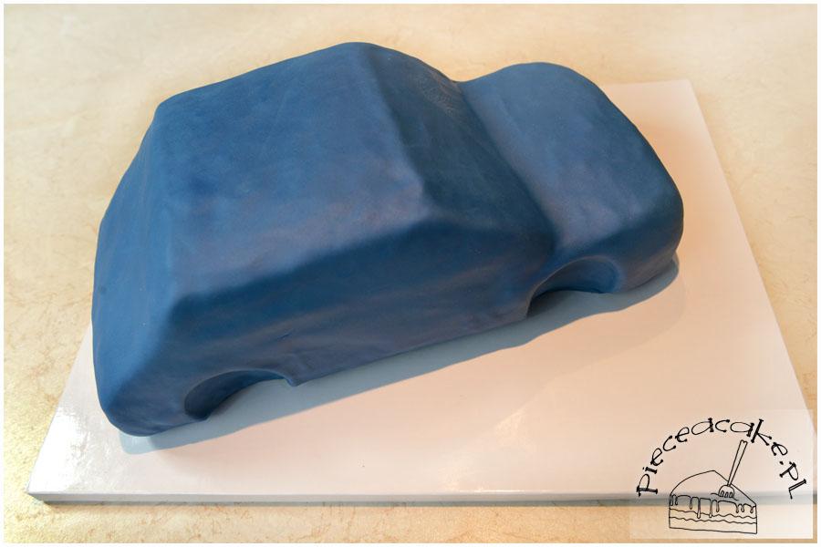 samochód - lukier plastyczny