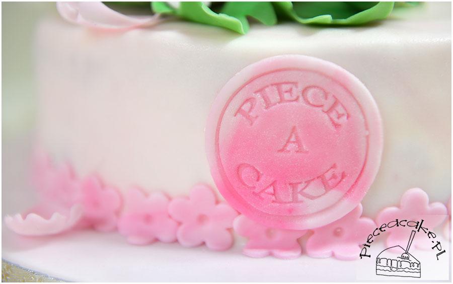pastelowy różowy lukier plastyczny