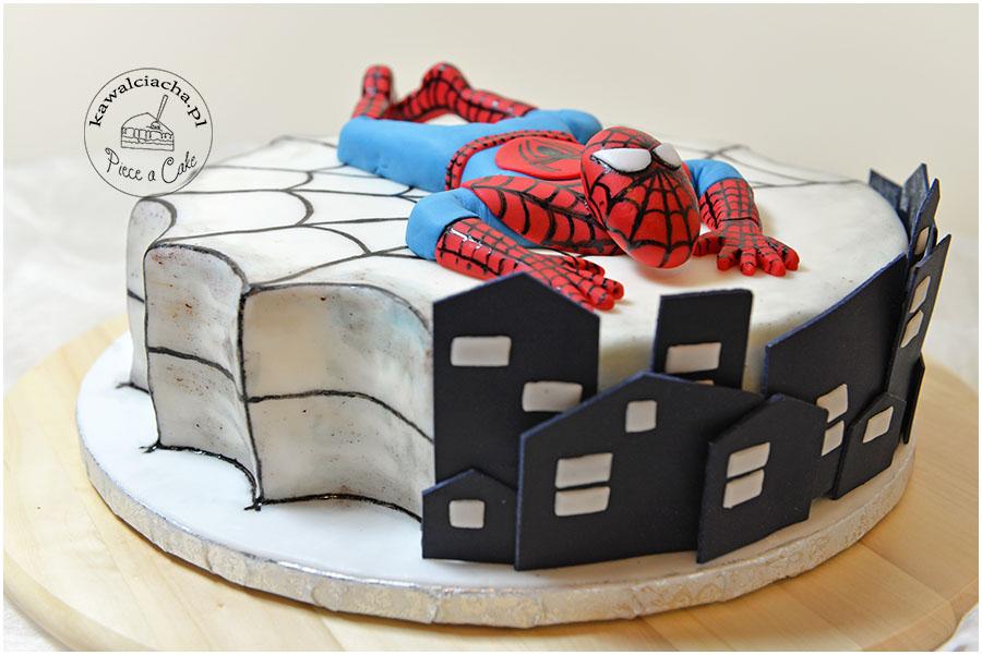 Tort spajder-men