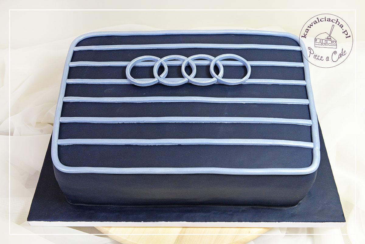 Tort dla chłopaka grill Audi