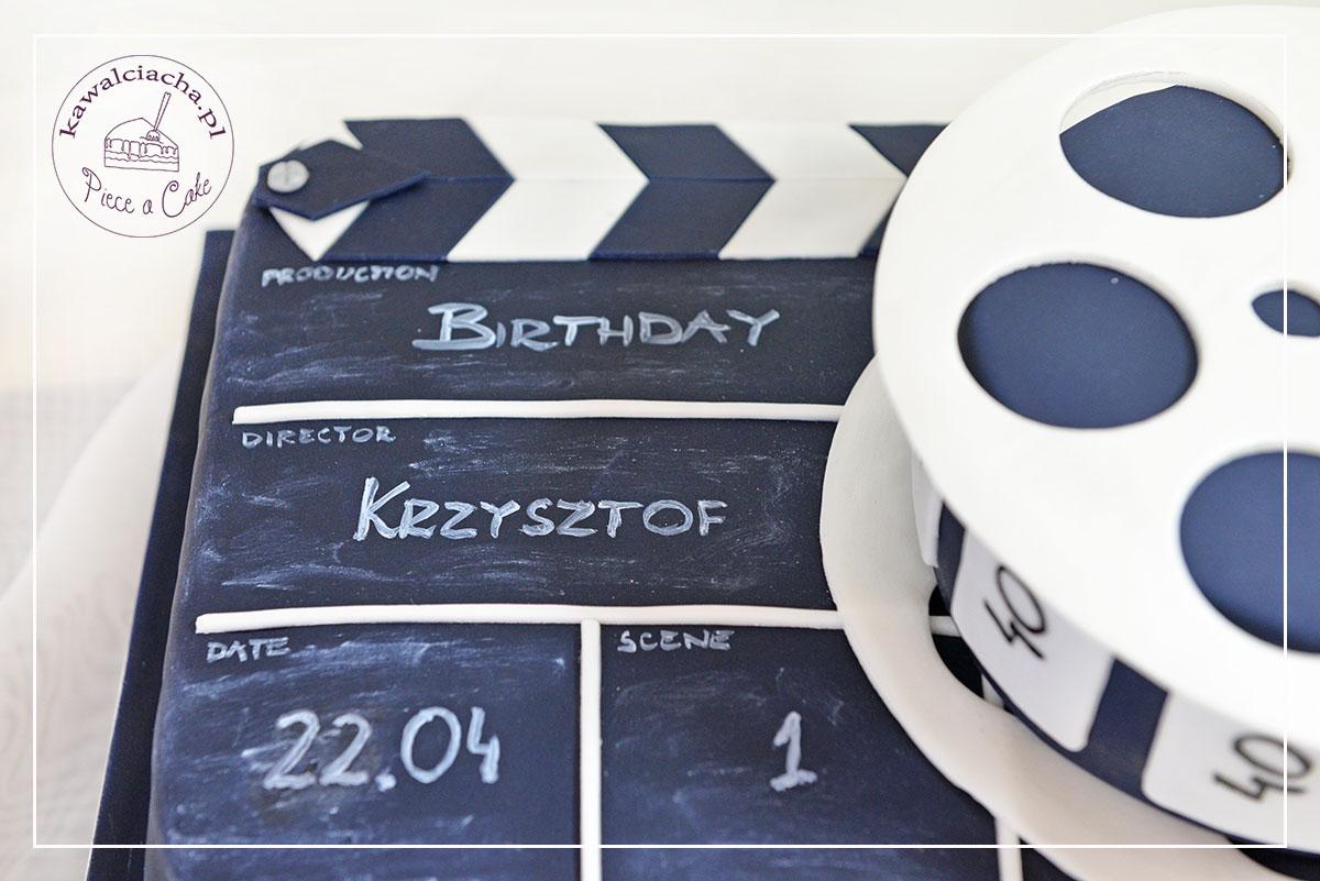 I piętro tortu dla filmowca - klaps
