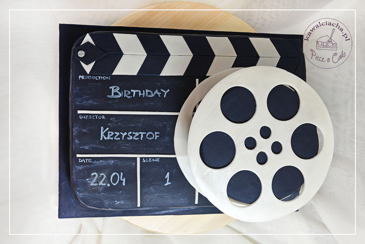 Tort dla filmowca w kształcie klapsa