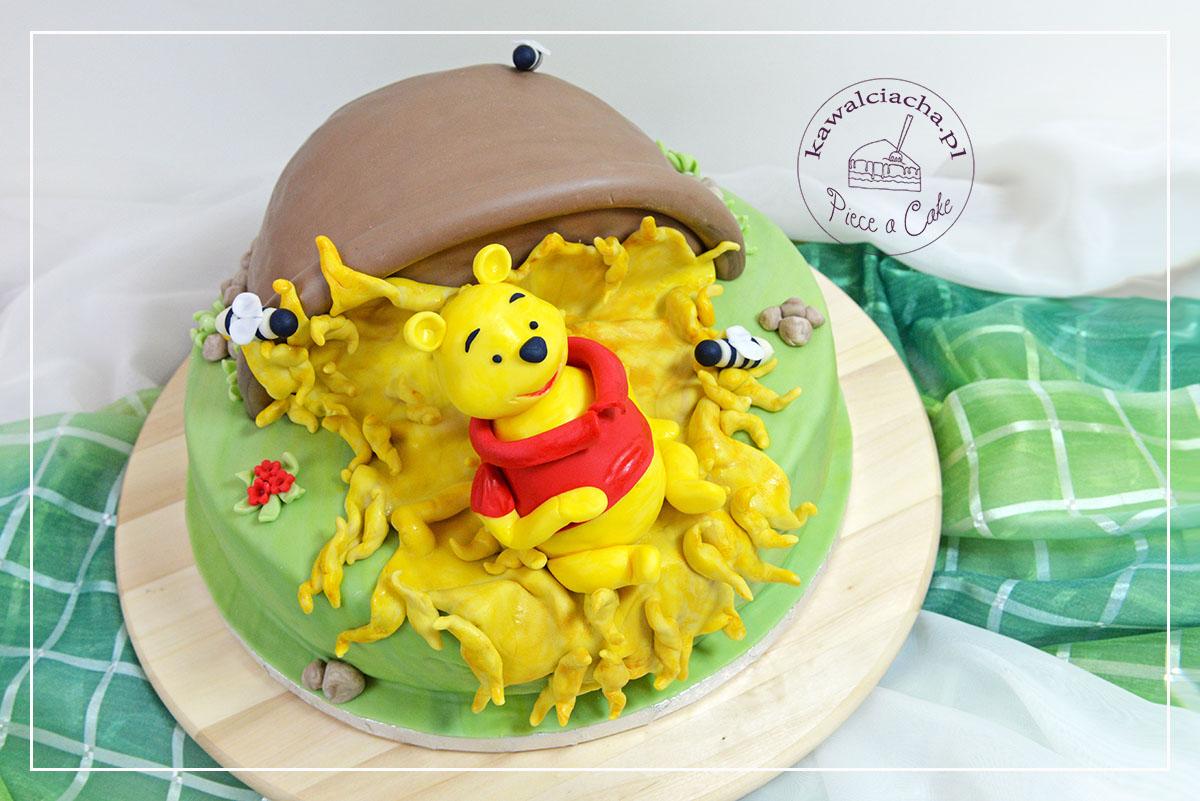 Tort dla dziecka z Kubusiem Puchatkiem