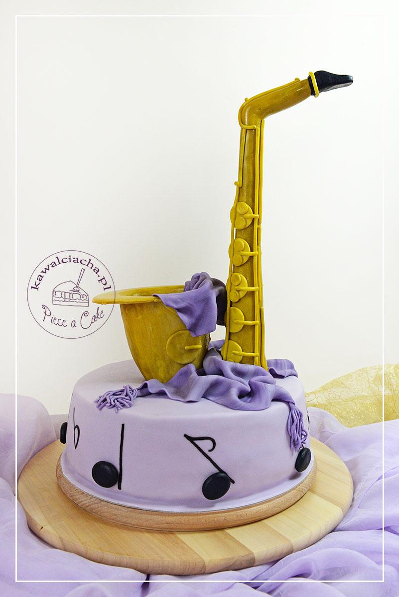 Tort dla muzyka Saxofon