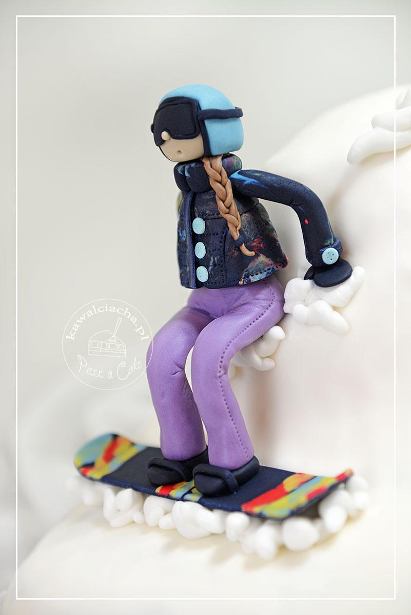 Tort w stylu angielskim Snowboard