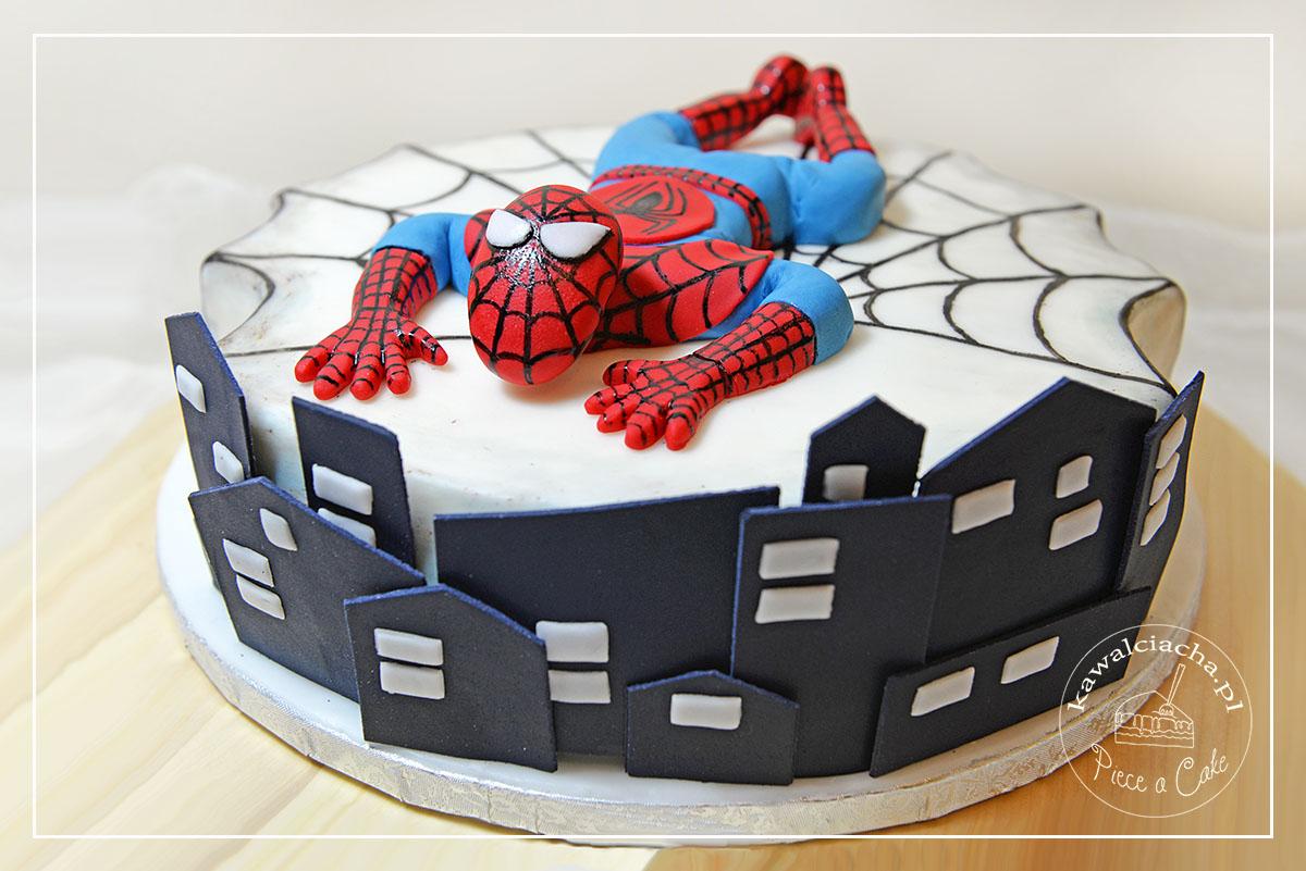 Tort urodzinowy Spiderman