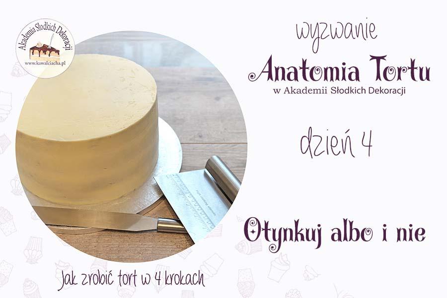 Anatomia tortu - jak otynkować tort