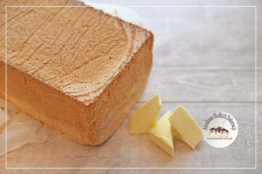 Obrazek: Biszkopt z masłem