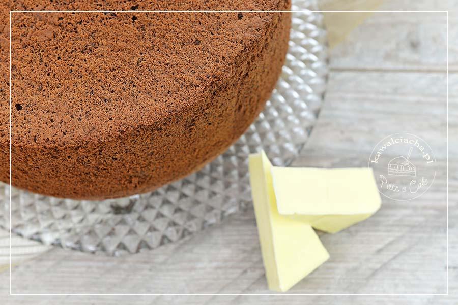 Obrazek: Biszkopt czekoladowy z masłem