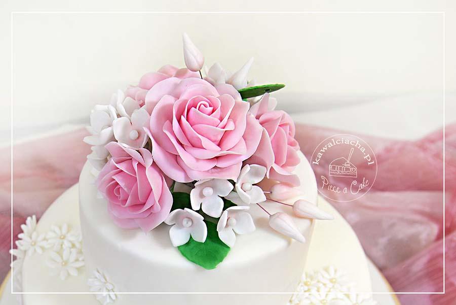 Bukiet z kwiatów cukrowych