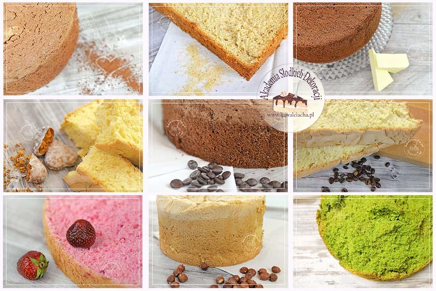 Biszkopt idealny i inne ciasta do tortu
