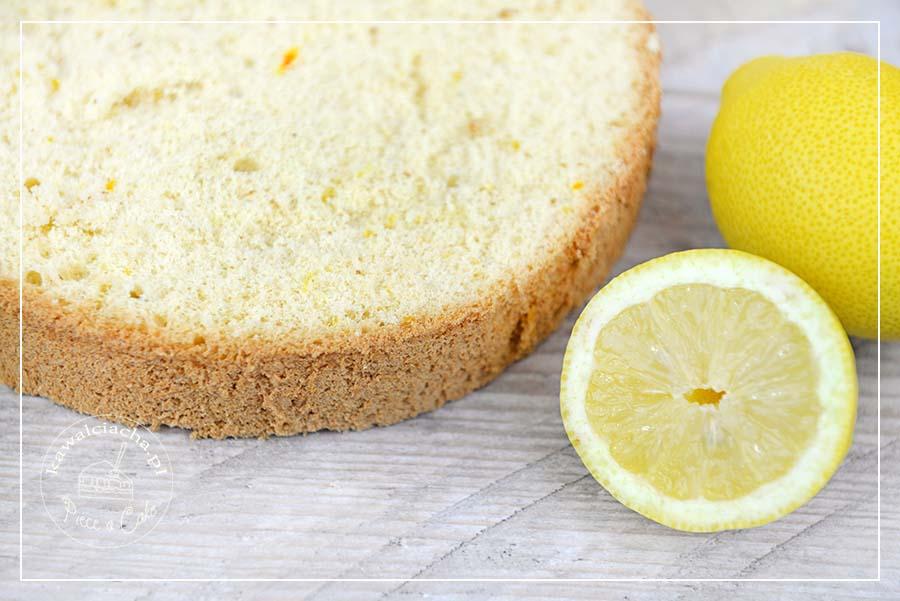 Obrazek: cytrynowy biszkopt do tortu