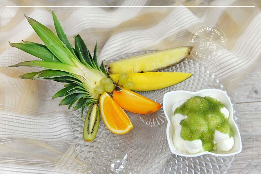 Krem z owoców egzotycznych