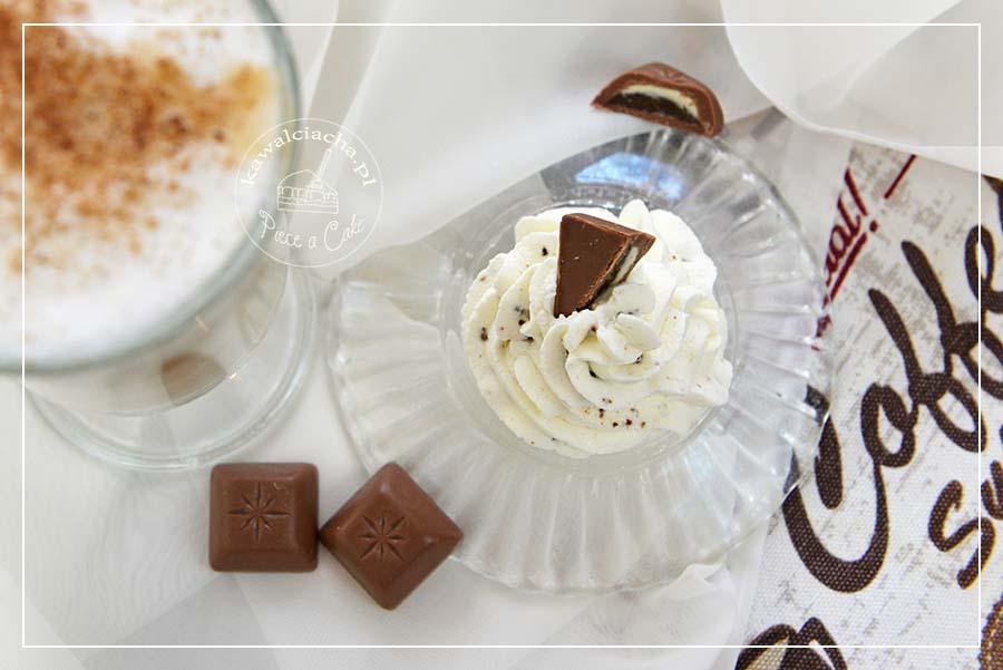 Krem mascarpone z kawową czekoladą