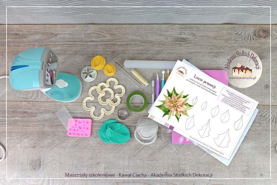Obrazek: Akcesoria do modelowania kwiatów cukrowych