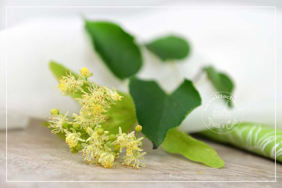 Krem mascarpone aromatyzowany kwiatem lipy