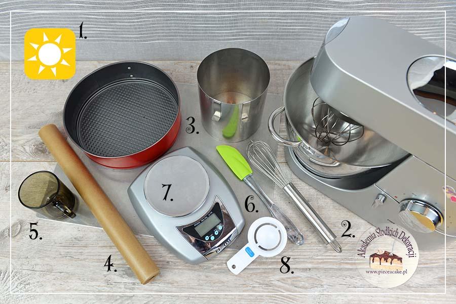 Obrazek: Od czego zacząć pieczenie tortów - narzędzia