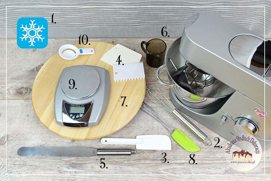 Obrazek: Narzędzia do tynkowania tortów