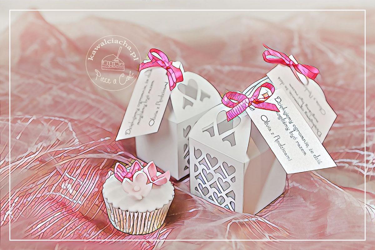 Przyjęcie z okazji chrztu - prezenty dla gości