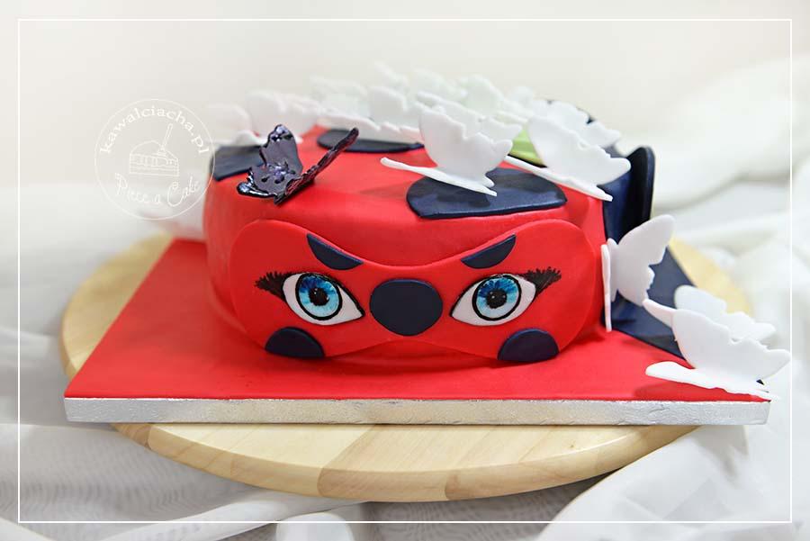 Obrazek: Tort dla dziewczynki Miraculum